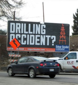 Billboard drilling accident